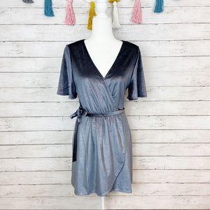 Show Me Your Mumu Andrea Wrap Dress Size M NWT